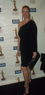 photo of Party Pals owner Melanie at the Actra Awards in Toronto 2013